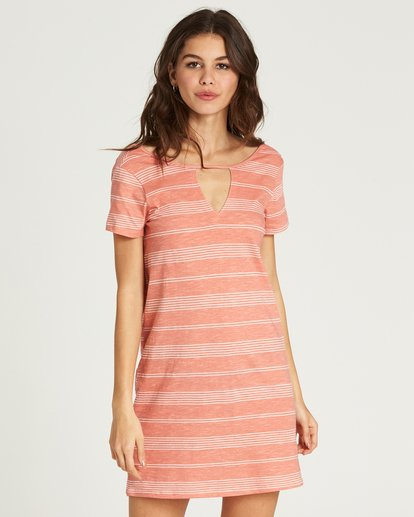 0 Move Fast Shirt Dress Pink JD29PBMO Billabong