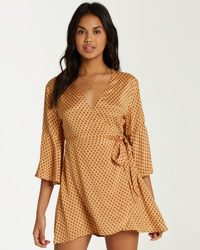 0 Divine Day Dress Yellow JD29VBDI Billabong