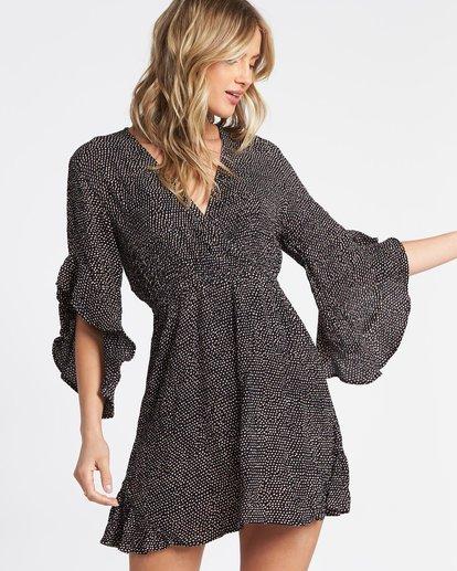 0 Love Light Mini Dress Black JD321BLC Billabong