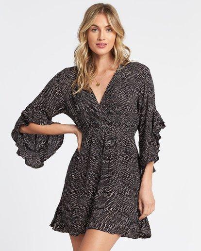 3 Love Light Mini Dress Black JD321BLC Billabong