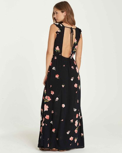 3 Wind Flutter Maxi Dress Black JD34QBWI Billabong