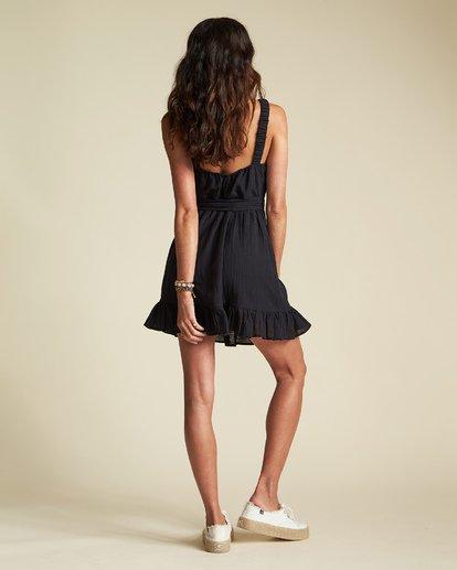 3 Sincerely Jules Saw It Coming Dress Black JD351BSA Billabong