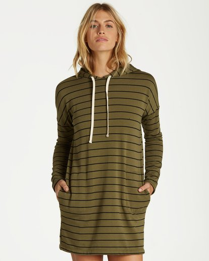 0 So Easy Mini Dress Green JD35VBSO Billabong