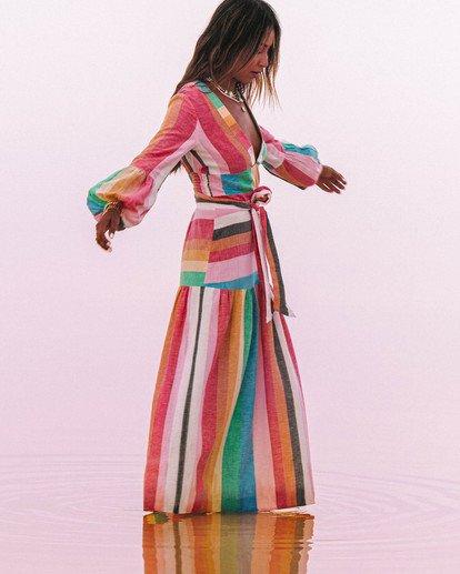 0 Sincerely Jules Mix It Up Dress Grey JD371BMI Billabong