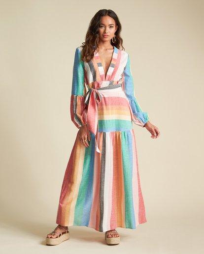 3 Sincerely Jules Mix It Up Dress Grey JD371BMI Billabong