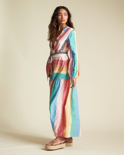 4 Sincerely Jules Mix It Up Dress Grey JD371BMI Billabong