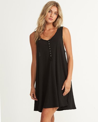 0 Last Call Mini Dress Black JD37UBLA Billabong
