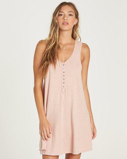0 Last Call Mini Dress Pink JD37UBLA Billabong