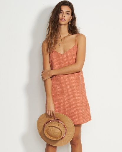 3 Candy Dress Mini Dress Pink JD37VBCA Billabong