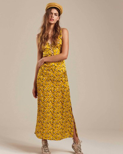 2 Topanga Nights Maxi Dress  JD39MTOP Billabong