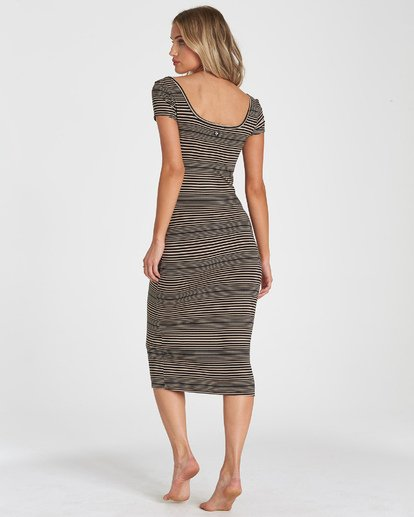 2 Day Night Midi Dress Black JD40UBDA Billabong