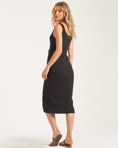 2 Nissi Midi Dress Black JD432BNI Billabong