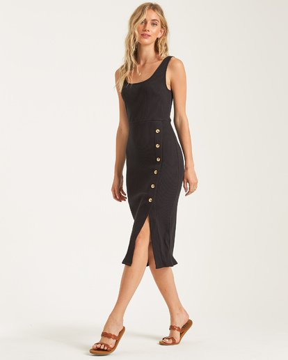 1 Nissi Midi Dress Black JD432BNI Billabong