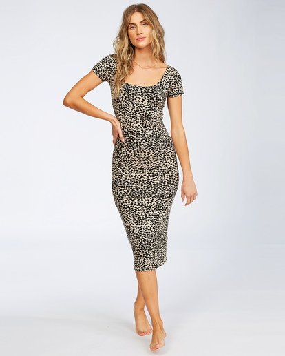 0 Mid Day Bodycon Dress Multicolor JD463BMI Billabong