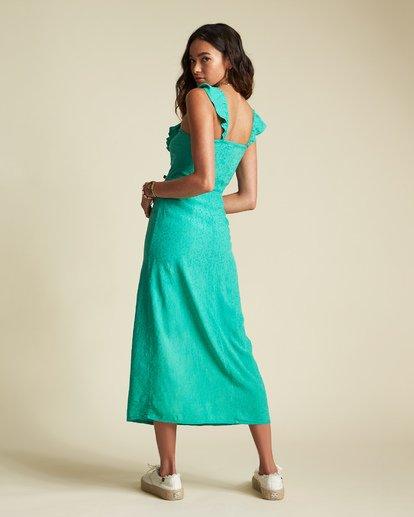 3 Sincerely Jules Love Tripper Dress Green JD551BLO Billabong