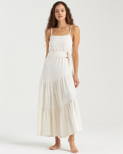 1 Island Spirit Maxi Dress White JD553BIS Billabong