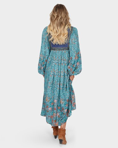 3 The Elle Dress Blue JD59SBEL Billabong