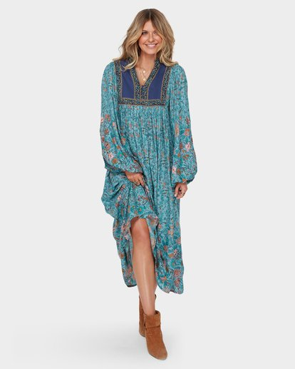 1 The Elle Dress Blue JD59SBEL Billabong