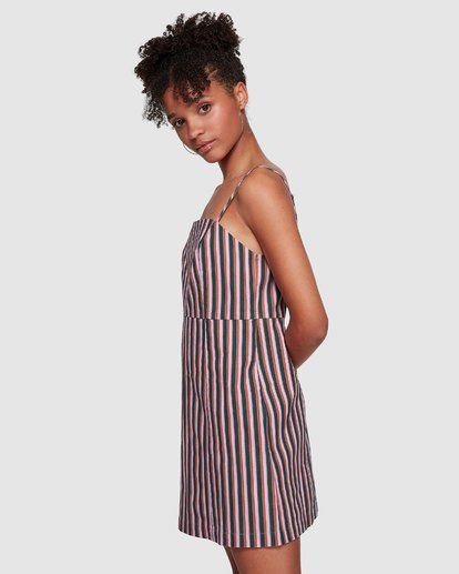 3 Lavender Love Stripe Dress Purple JD60VBLA Billabong