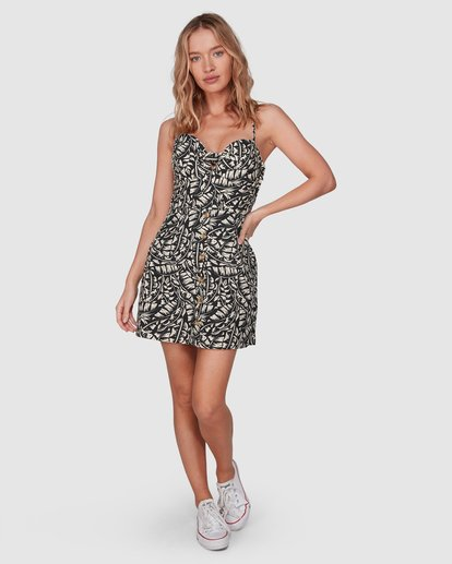 3 Morning Light Franca Dress Black JD60VBMO Billabong