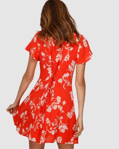 2 Mad Love Dress Orange JD61VBMA Billabong