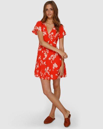 3 Mad Love Dress Orange JD61VBMA Billabong