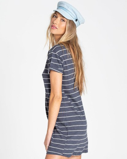 1 Coast To Coast T-Shirt Dress Blue JD65TBCO Billabong
