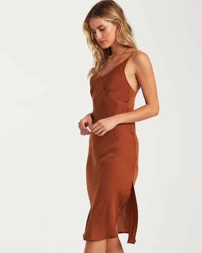 1 Sundance Slip Dress Brown JD70WBSU Billabong