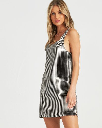 2 In The Mix Dress Black JD71UBIN Billabong