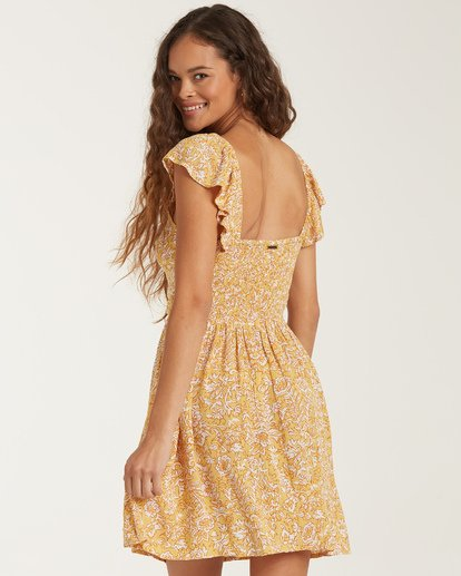 4 Forever Yours Dress Yellow JD722BFO Billabong