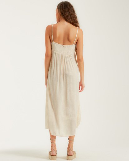 2 Twist It Dress White JD732BTW Billabong