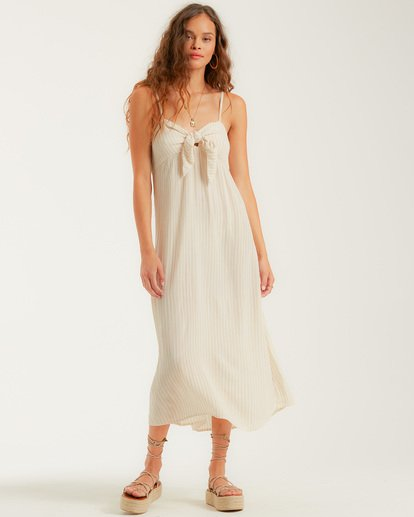 0 Twist It Dress White JD732BTW Billabong