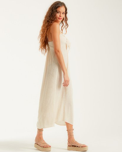 1 Twist It Dress White JD732BTW Billabong