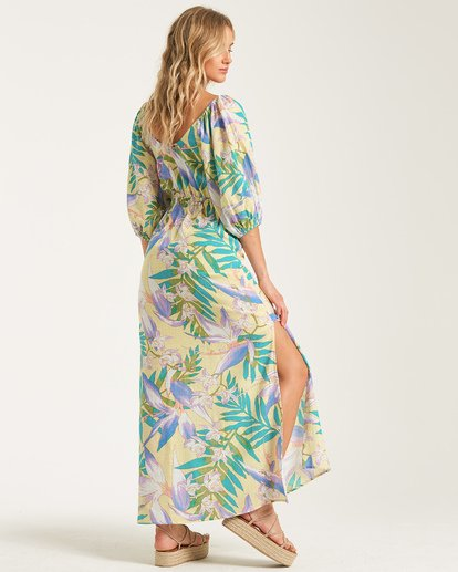 2 Todays Wish Dress Yellow JD762BTO Billabong