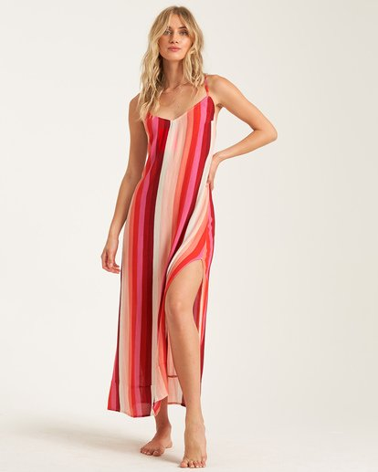 0 Wanna Be Around Dress Red JD792BWA Billabong