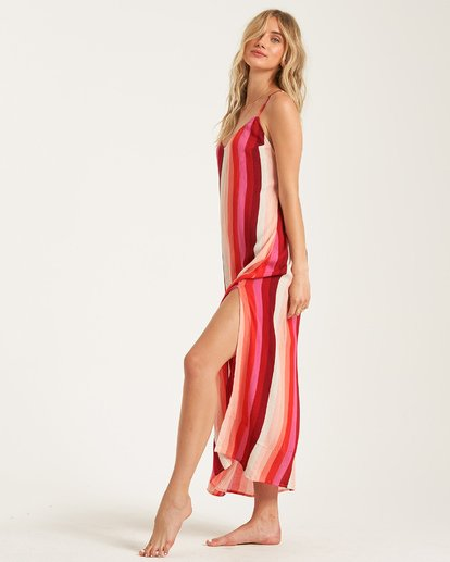1 Wanna Be Around Dress Red JD792BWA Billabong