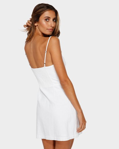 2 Franca Mini Dress White JD80TBFR Billabong