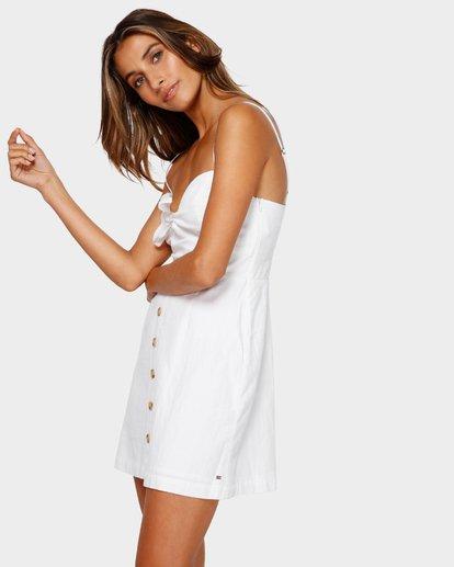 1 Franca Mini Dress White JD80TBFR Billabong
