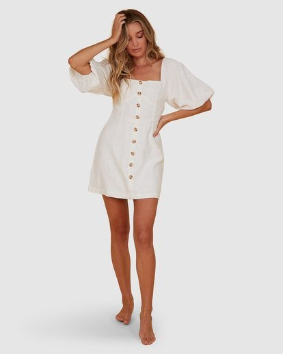 5 White Sand Dress White JD821BWH Billabong