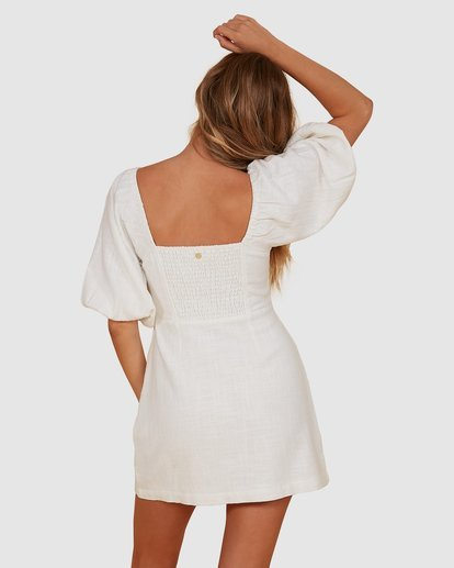 3 White Sand Dress White JD821BWH Billabong