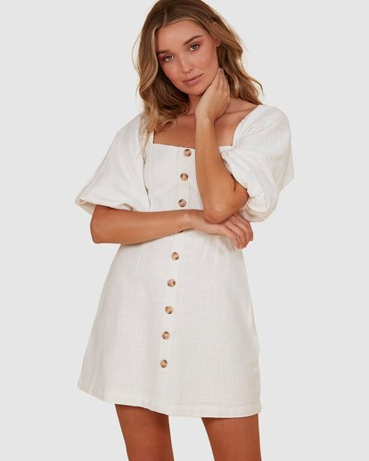 0 White Sand Dress White JD821BWH Billabong
