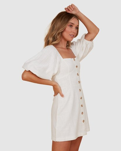 1 White Sand Dress White JD821BWH Billabong