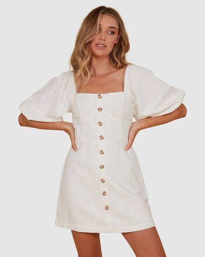 2 White Sand Dress White JD821BWH Billabong