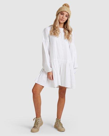7 Wishes Dress White JD823BWI Billabong