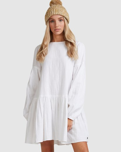 2 Wishes Dress White JD823BWI Billabong
