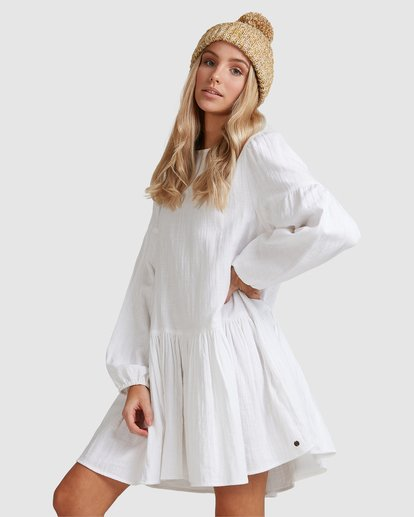 5 Wishes Dress White JD823BWI Billabong
