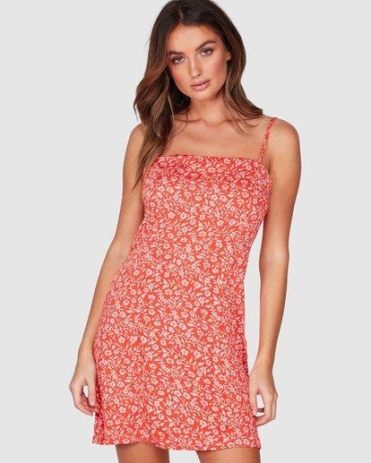 0 Chantal Mini Dress Red JD842BCH Billabong