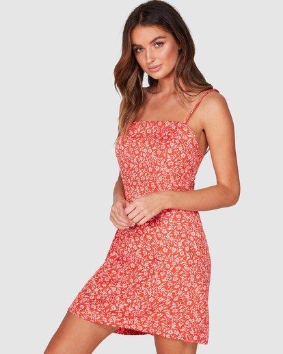 1 Chantal Mini Dress Red JD842BCH Billabong