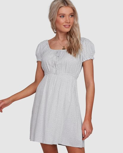0 Blue Bayou Mini Dress Blue JD881BBL Billabong