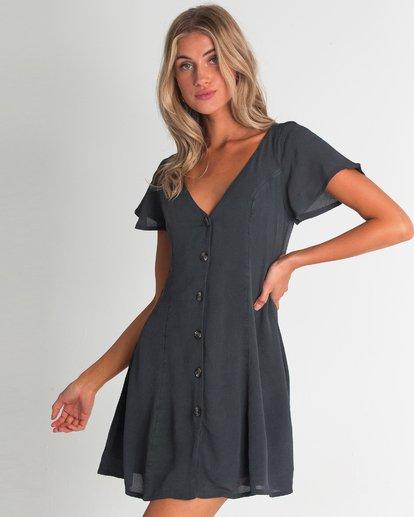 1 Sunlight Dreamin Mini Dress Black JD90TBSU Billabong